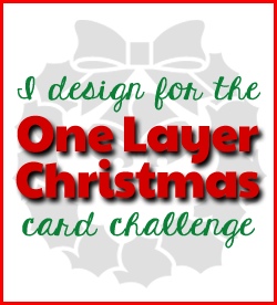 One Layer Christmas Challenge